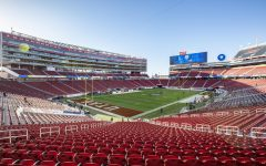 Levi's Stadium, the site of the Pac12 Championship Football game in Santa Clara, CA on Friday, Nov. 30, 2018. (Photo by: Justin Prather | The Daily Utah Chronicle).