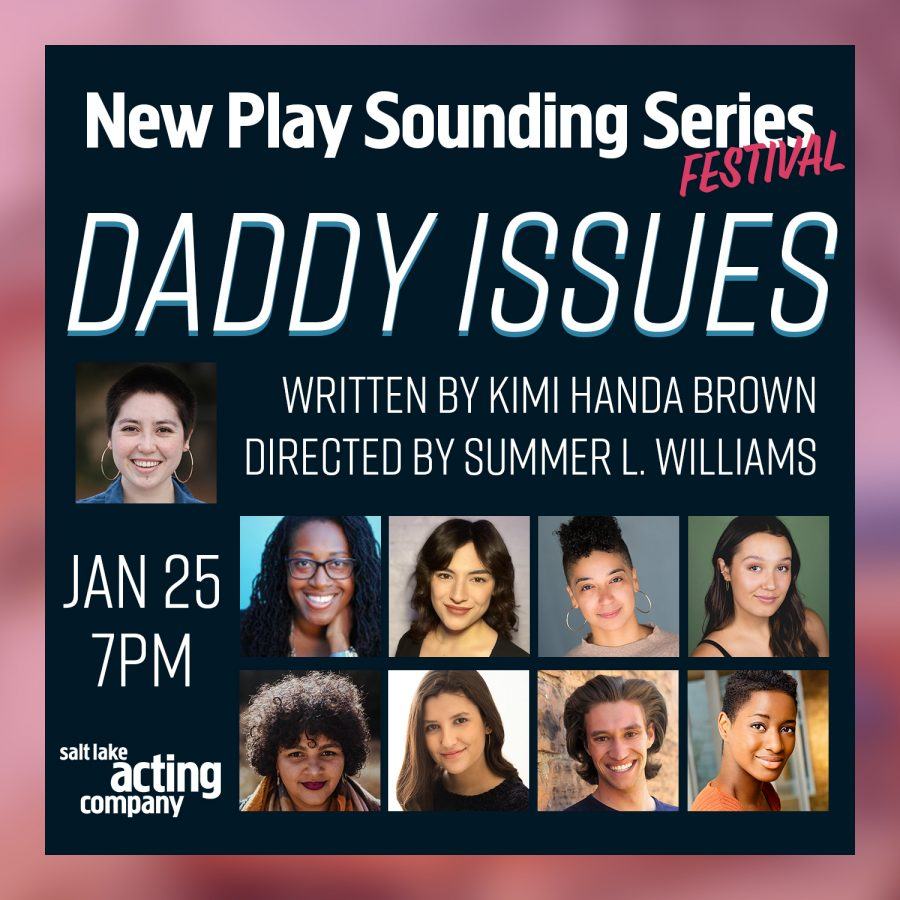 Daddy Issues Promotional Image (Courtesy of Salt Lake Acting Company).