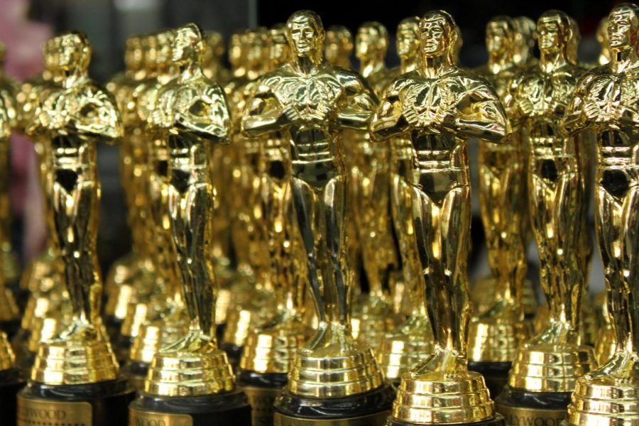Oscars statuettes. (Courtesy Flickr)