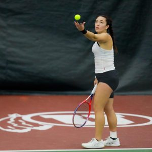 Men's Tennis Wins Out While Women's Clinches Victory Over BYU