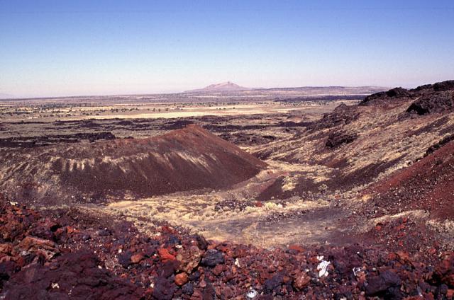 The Black Rock Desert volcanic field in Millard County, Utah, 1996. (Photo by Lee Siebert | Smithsonian Institution)