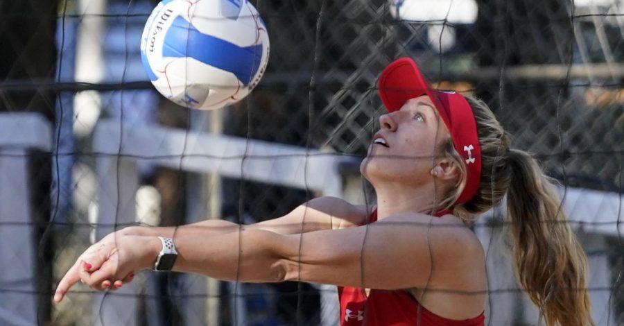 Senior Olivia Teerlink.(Courtesy Utah Athletics)
