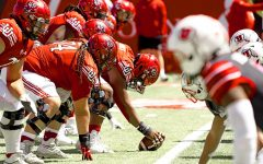 University of Utah Spring Football Game on Saturday, April 17, 2021. (Photo by Kevin Cody | Daily Utah Chronicle)