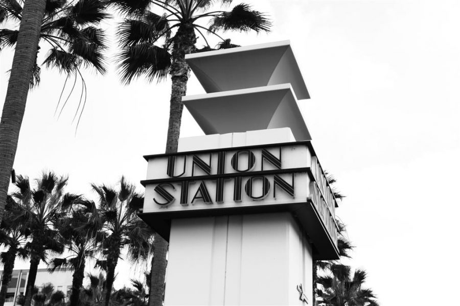 A view of the Union Station sign in Los Angeles where the Oscars were held this year. (Courtesy Wikipedia)
