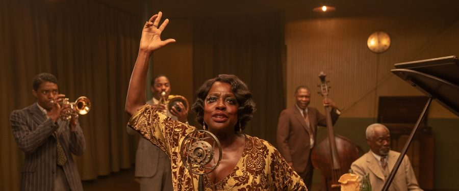 Viola Davis and Chadwick Boseman star in