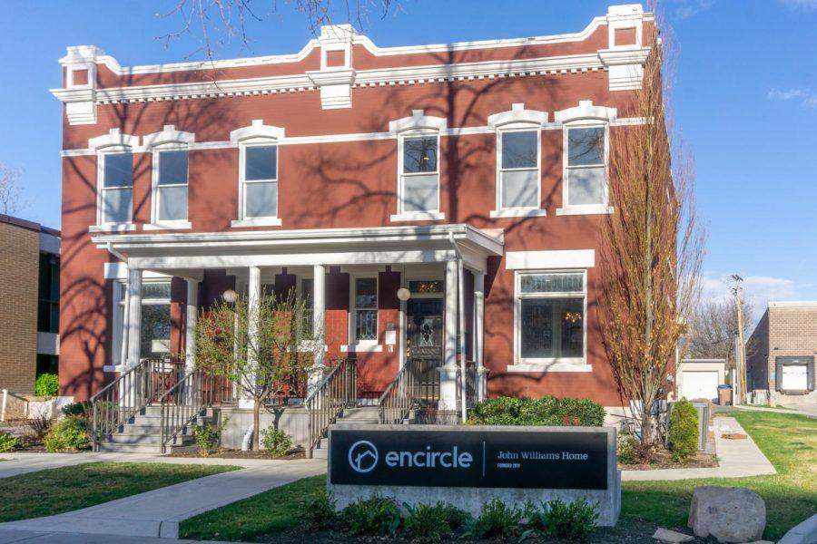 The Encircle house in Salt Lake City, Utah.(Photo by Tom Denton | Daily Utah Chronicle)
