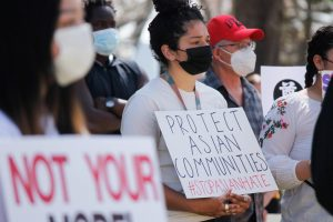 Two U Students Organize Protest in Support of Asian Americans