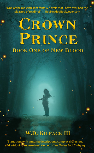 "Cover of ""Crown Prince: Book One of New Blood."" (Courtesy Amazon)"