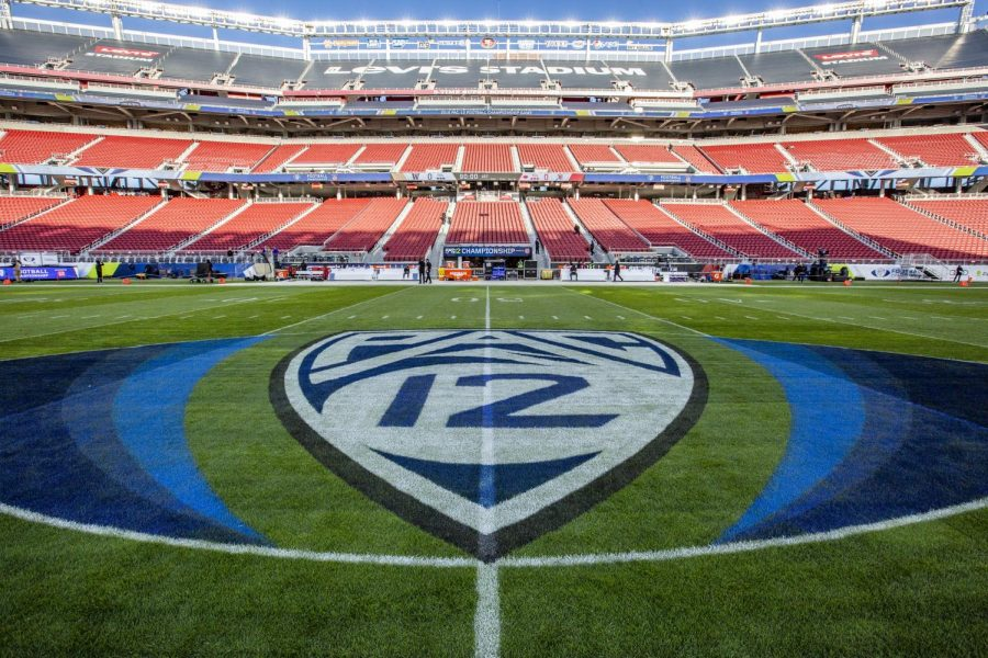 Levi's Stadium, the site of the Pac-12 Championship football game in Santa Clara, Calif. on Friday, Nov. 30, 2018. (Photo by: Justin Prather | Daily Utah Chronicle)