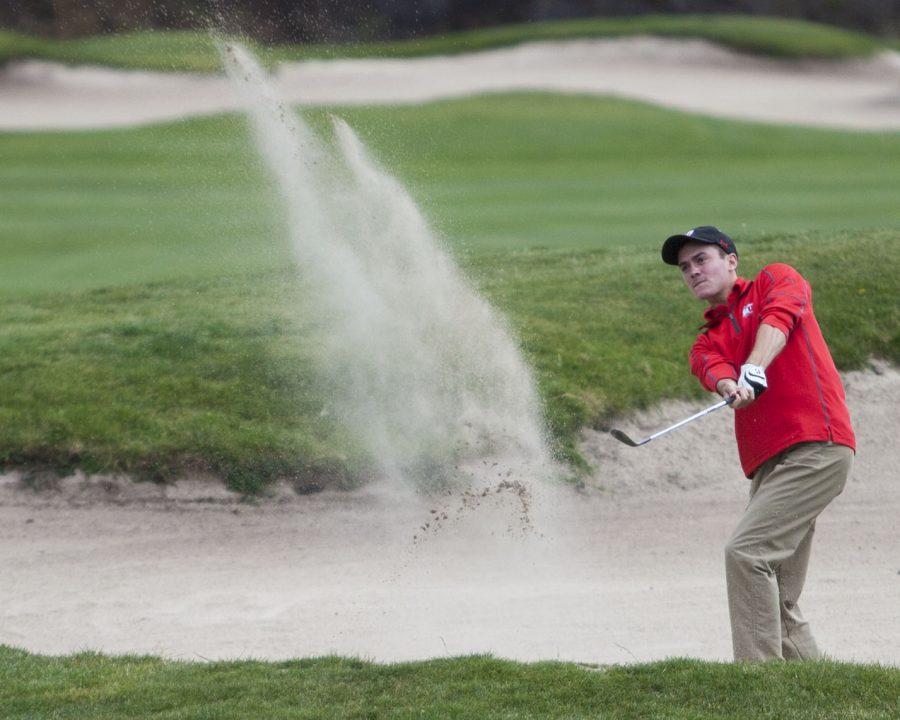 Ute golfer Nathan Wunderli. (Chronicle archives)