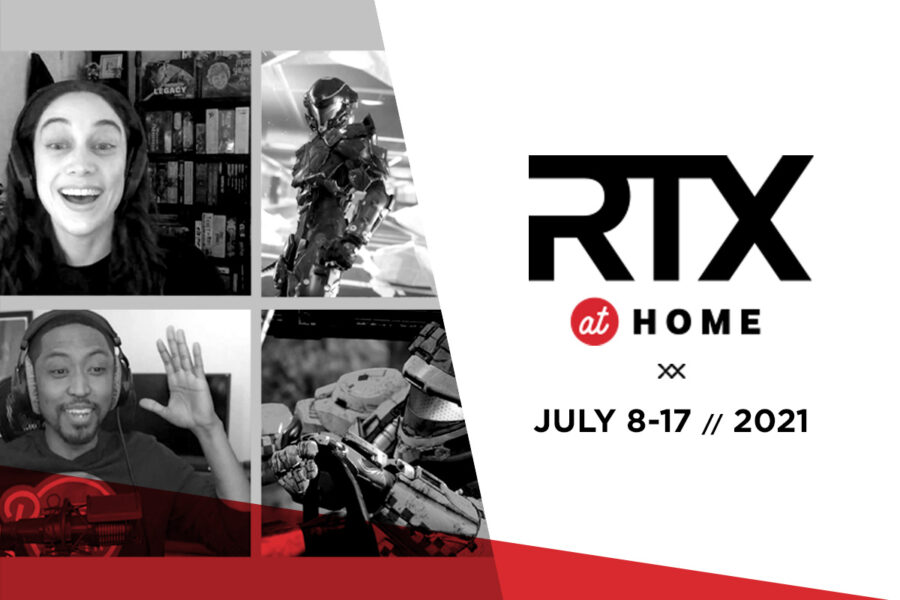 Image for RTX at Home July 8-17. (Courtesy Rooster Teeth LLC)