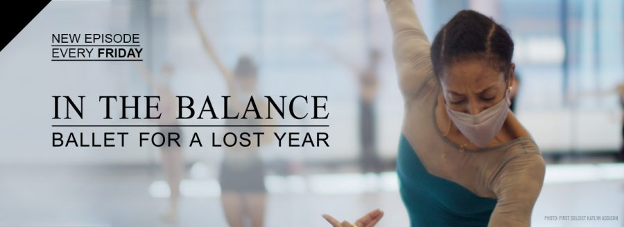 Ballet West first soloist Kaitlyn Addison for In the Balance. (Courtesy Ballet West)