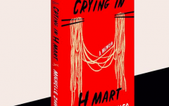 Crying in H Mart book cover. (Courtesy Michelle Zauner)