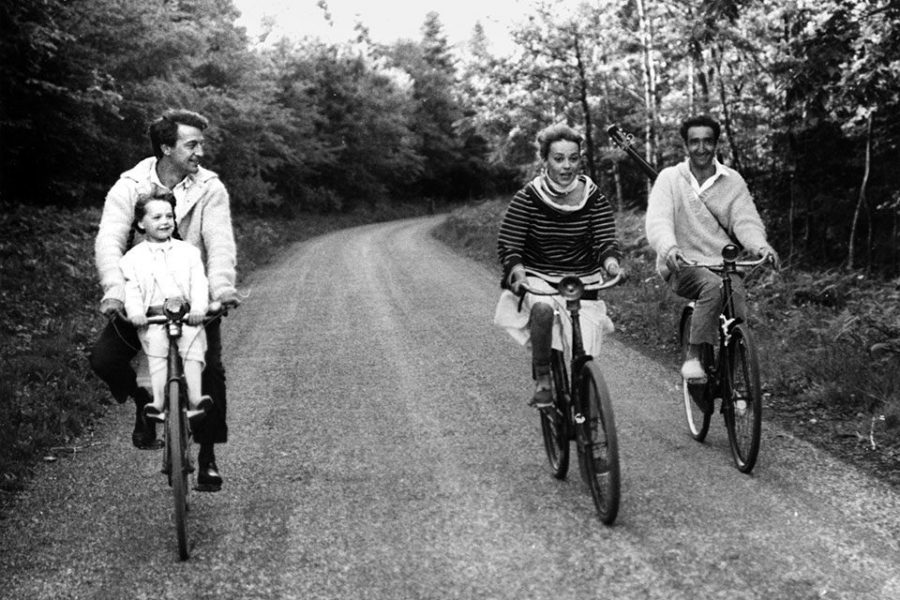 Screenshot from Jules and Jim. (Courtesy of HBOMax)