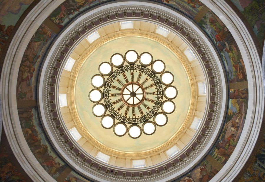 Inside the Utah State Capitol Building on Tuesday, July 27, 2021 (Photo by Brooklyn Critchley | The Daily Utah Chronicle)