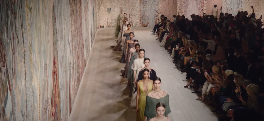 The Dior Autumn-Winter 2021-2022 Haute Couture Show. (Courtesy of Christian Diors YouTube)