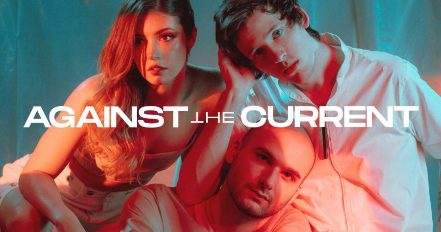 Bandmates Chrissy Costanza, Will Ferri and Dan Gow of Against The Current. (Courtesy ATC Official)