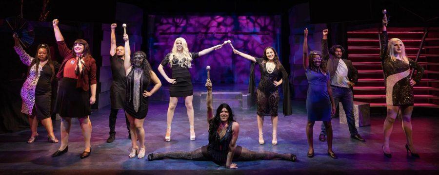 The cast of #SLACabaret at Salt Lake Acting Company. (Courtesy David Daniels)