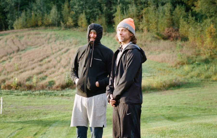 Aaron Dessner and Justin Vernon. (Courtesy of Graham Tolbert)