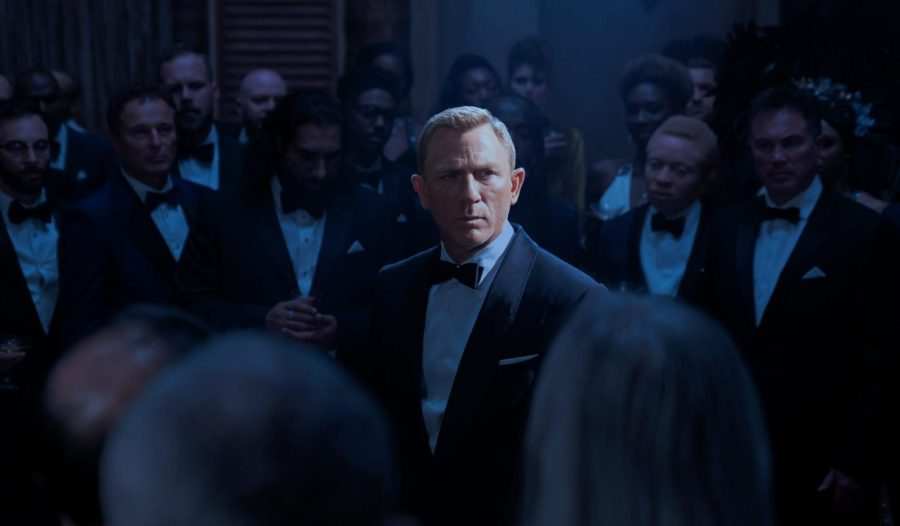 Daniel Craig in a screenshot of the No Time To Die trailer. (Courtesy of MGM)