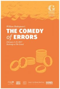 The Grand Theatre Revels in Jokes with 'Comedy of Errors'
