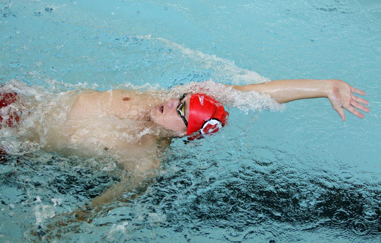 Daniel McArthur, Utah Swim and Dive team August 31, 2015 in Salt Lake City, UT. (Photo / Steve C. Wilson / University of Utah)