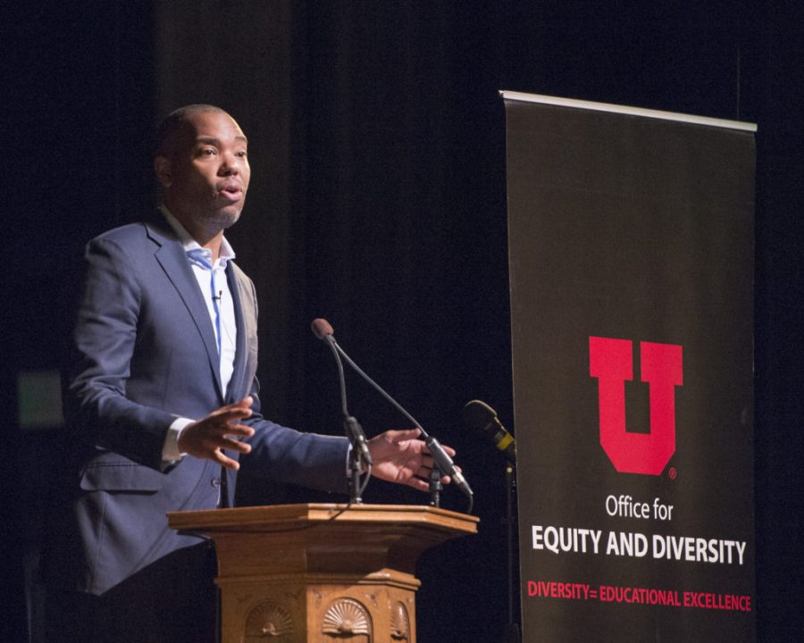 Ta-Nehisi+Coates+speaks+as+part+of+Dr.+Martin+Luther+King%2C+Jr.+Week+at+Kingsbury+Hall+at+the+Univesity+of+Utah.