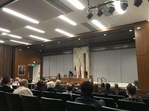 Keynote Speaker Discusses Legitimacy of Criminal Justice System