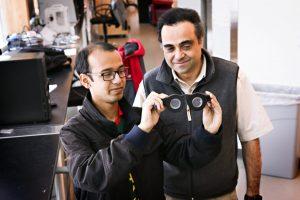 A New Set of Eyes: U Student and Professor Develop Smart Glasses
