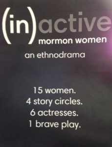 '(In)active Mormon Women: An Ethnodrama' (review)