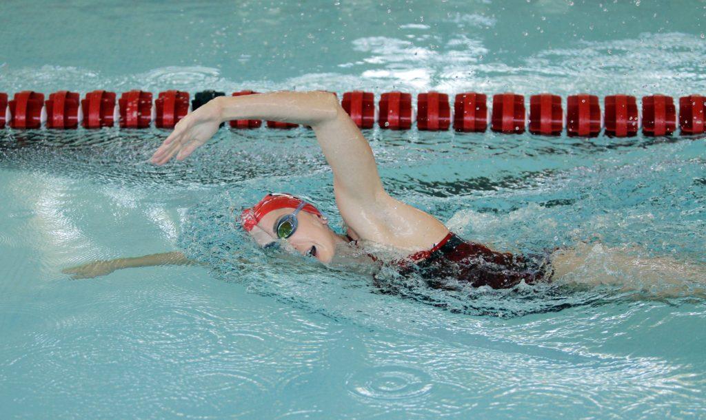 Jordan Anderson, Utah Swim and Dive team August 31, 2015 in Salt Lake City, UT. (Photo / Steve C. Wilson / University of Utah)