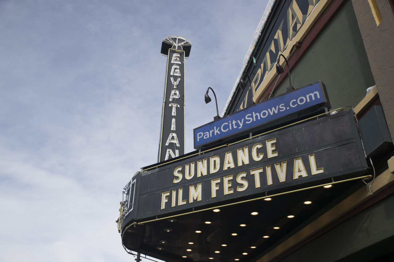 The Egyptian Theatre on Main Street during the Sundance Film Festival in Park City, Utah on Sunday, Janurary 22, 2017. Chris Ayers Daily Utah Chronicle.